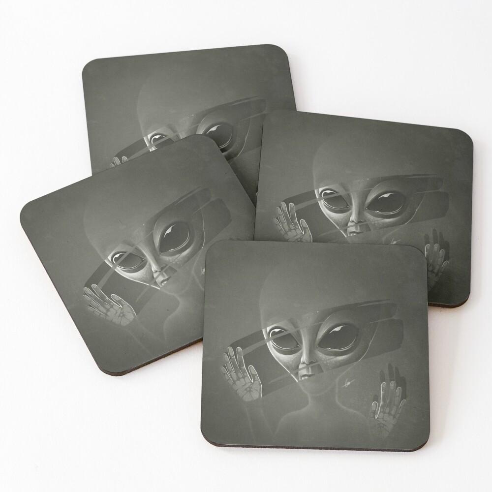 Alien Coasters (Set of 4)