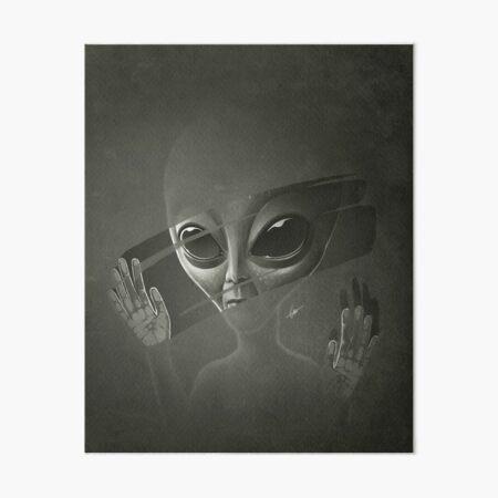 Außerirdischer Galeriedruck
