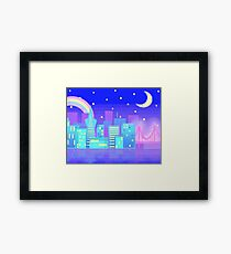 Greetings from San Francisco! Framed Print