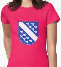 Kassel Coat of Arms Womens Fitted T-Shirt