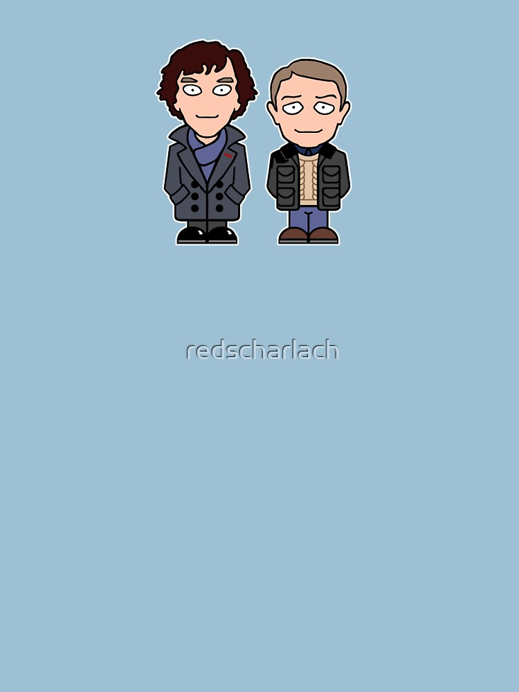 Sherlock and John mini people (shirt) | Women's T-Shirt