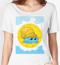 Lord Helix — Give Energy Omanyte with brackground Women's Relaxed Fit T-Shirt