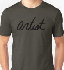 Artist - cursive T-Shirt