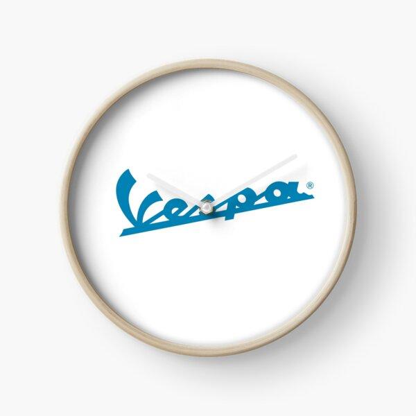 Vespa Blue Clock