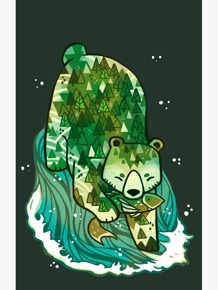 Spirit Bear by michelledraws