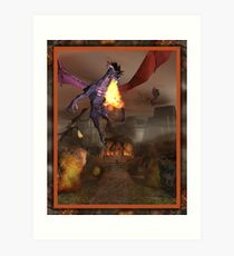 The Dragons Revenge Art Print