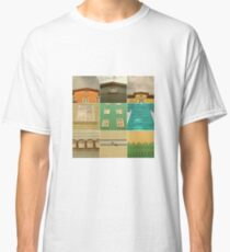 Wooden House Collage Classic T-Shirt