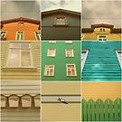 Wooden House Collage by TalBright