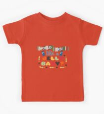 Doctor Who Typography - Jelly Baby Kids Clothes