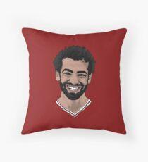 Mohamed Salah Throw Pillow