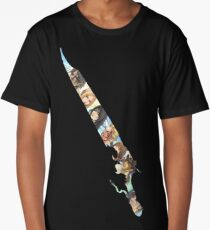 Final Fantasy 8 Gunblade Squall, Riona, and other characters Long T-Shirt