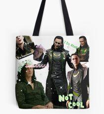 Loki Mashup Tee Tote Bag