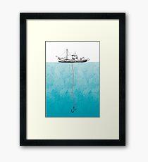 Pesca Framed Print