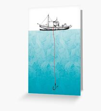 Pesca Greeting Card