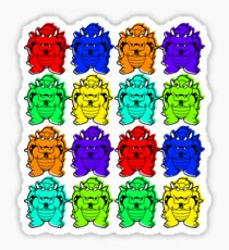 Rainbowser Sticker