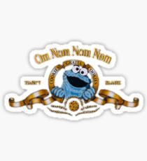 Cookie The Monster MGM Logo Sticker