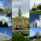 Houses of Worship Collage by BlueMoonRose