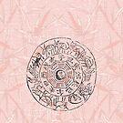 Chinese Zodiac Signs Ancient Wall Design by ChineseZodiac