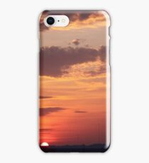 INDIANA SUNSET iPhone Case/Skin
