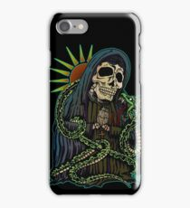 Madonna with snake iPhone Case/Skin