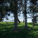 Extruded Trees by dstarj