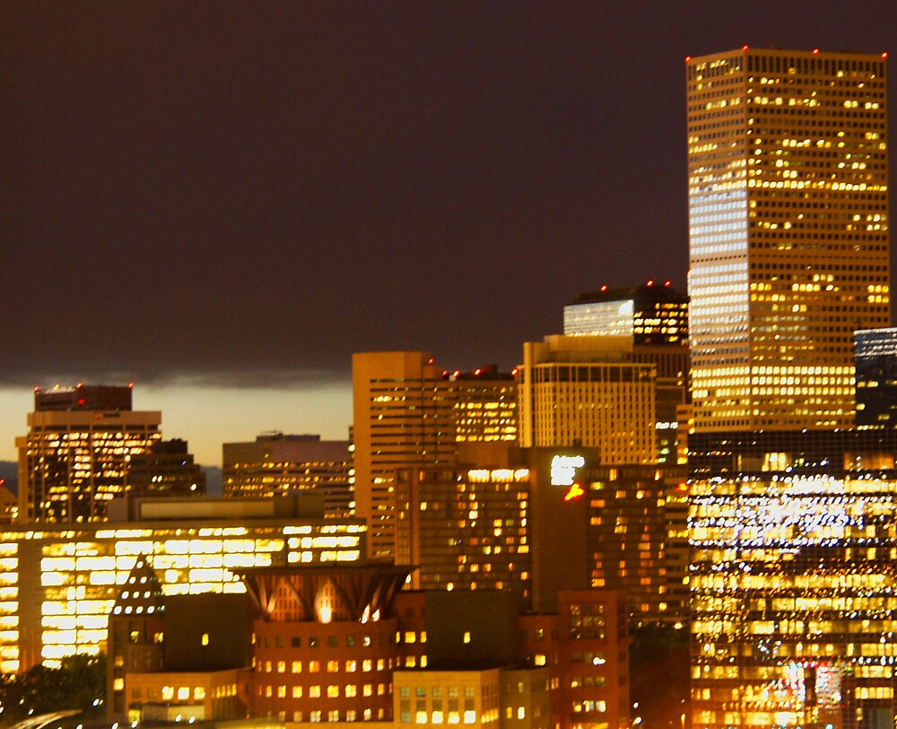 Downtown Denver, Colorado by Chase Goll