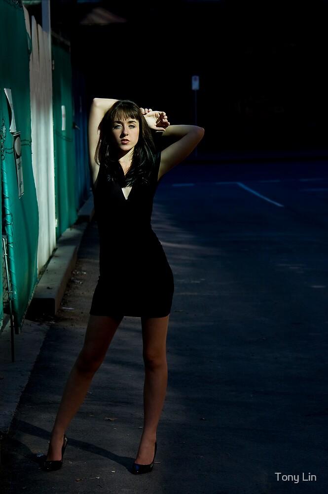 Fashion Shot Chloe Jane Street Location by Tony Lin