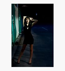 Fashion Shot Chloe Jane Street Location Photographic Print