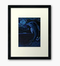 Lonely Tonight Framed Print