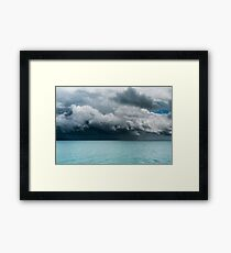 Boat Ahead Framed Print