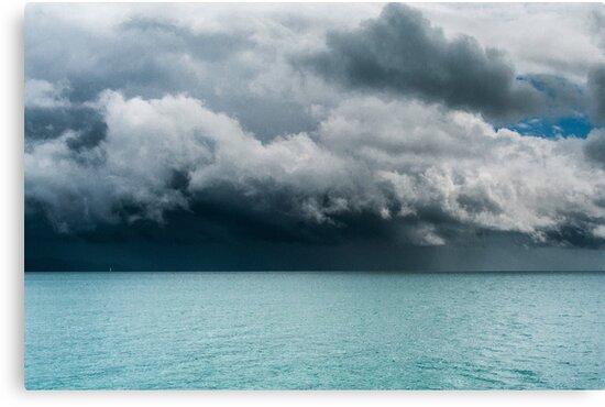 Boat Ahead by Werner Padarin