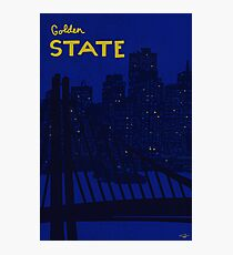 Golden State Poster Photographic Print