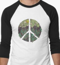 Peaceful Landscape Men's Baseball ¾ T-Shirt