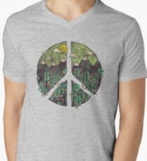 Peaceful Landscape Men's V-Neck T-Shirt