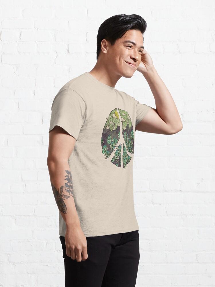 Alternate view of Peaceful Landscape Classic T-Shirt