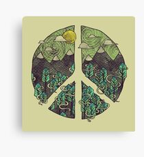 Peaceful Landscape Canvas Print