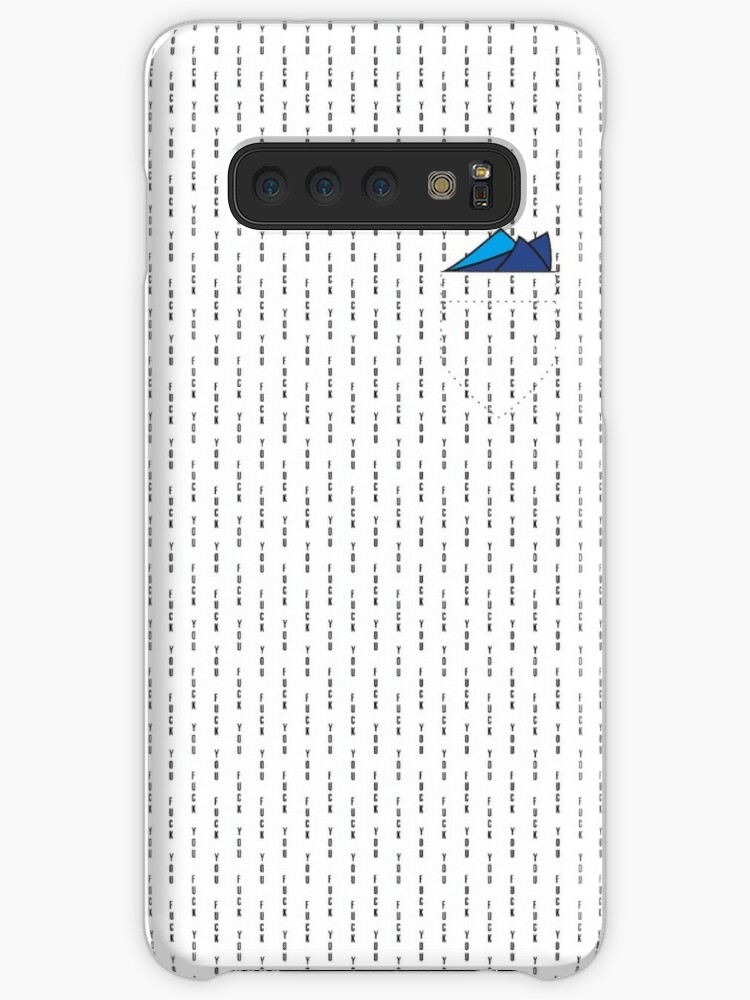 'conor mcgregor Fuck You - Pin Stripe (with pockets design)' Case/Skin for  Samsung Galaxy by markushani