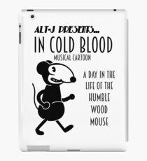 Vintage Wood Mouse 3 iPad Case/Skin