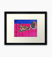 Tap and Ball Framed Print