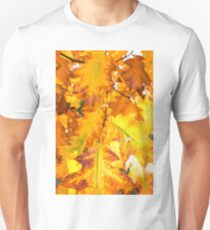 autumn foliage from a red oak T-Shirt