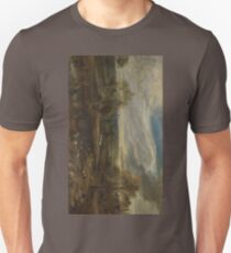 A Landscape with a Shepherd and his Flock 1638 Peter Paul Rubens T-Shirt