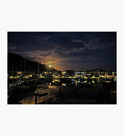 Moon Rise Over Nelly Bay - Magnetic Island Photographic Print