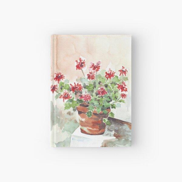 Sweet Geranium Hardcover Journal
