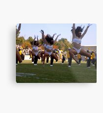 Leaping Dancers Metal Print