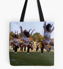 Leaping Dancers Tote Bag