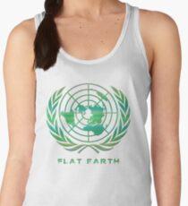 Flat Earth Classic Logo Women's Tank Top