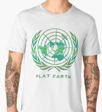 Flat Earth Classic Logo Men's Premium T-Shirt