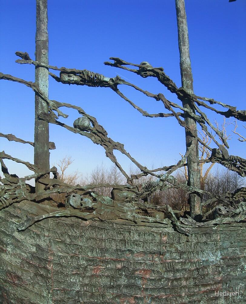 Famine Memorial by Hediyeh