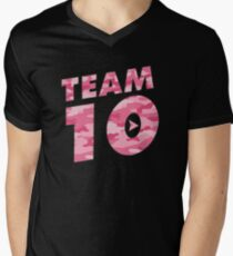 Team 10 Pink Camo: Jake Paul  T-Shirt