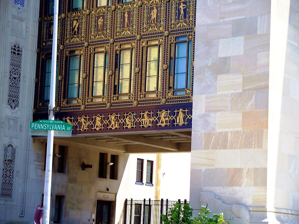 Lovely building on Pennsylvania Avenue .. in Philadelphia by Judi Taylor